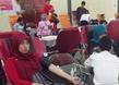 Kegiatan Donor Darah di Universitas Gadjah Mada (UGM) Yogyakarta.